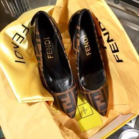 shosouvenir Fendi Beautiful fashion sandals and high heels
