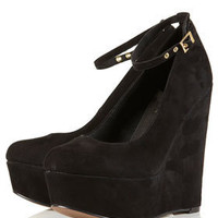 SALUTE Ankle Strap Wedges - Heels - Shoes - Topshop USA