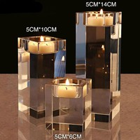 Crystal Candle Holders Small Tealight Candlestick