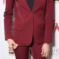 2018 Women Business suits Formal Office suits Custom made Ladies Work Solid Single Button Long Sleeve suits W13