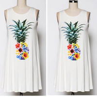 Pineapple Mini Dress
