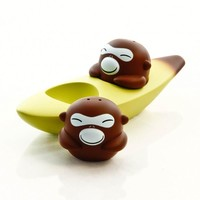Banana Bros Set: Salt and Pepper | Alessi | Let's play design | AmbienteDirect.com
