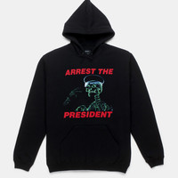 ARREST THE PRESIDENT HOODIE - BLACK | 10.Deep® Clothing