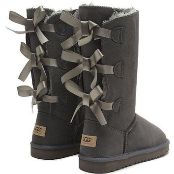 UGG Women male Fashion Wool Snow Boots I-8