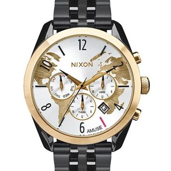 AMUSE SOCIETY BY NIXON THE BULLET CHRONO WATCH
