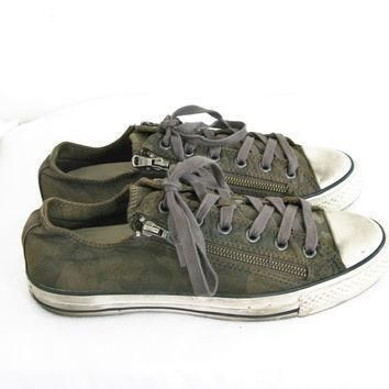 converse x john varvatos double zip camouflage oxford m8 w10