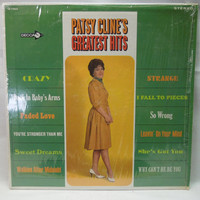 Patsy Cline Record - Patsy Cline's Greatest Hits - Vintage Vinyl LP - 1967 Album