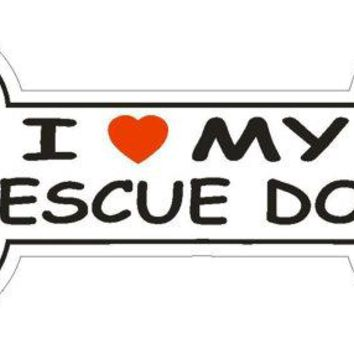 Dog Breed Bumper Sticker, Car Decal, Phone Sticker, Laptop Sticker
