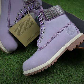 ONETOW Best Online Sale Timberland Icon 6 Classic Purple Grey Winter Outdoor Boots