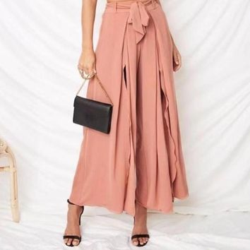 Diane Flow Split Trousers
