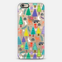 midnight woodland transparent iPhone 6 case by Sharon Turner | Casetify