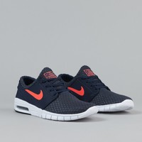 Nike SB Stefan Janoski Max Shoes - Obsidian / Hot Lava / White