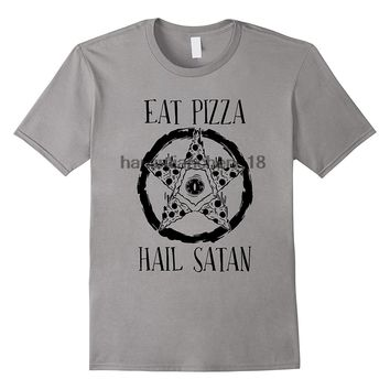Eat Pizza Hail Satan - Pizza Unisex T-shirt