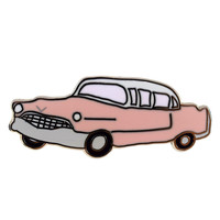 Pink Cadillac Pin by Abby Galloway