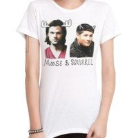 Supernatural Moose & Squirrel Girls T-Shirt