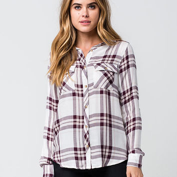 FULL TILT Fig Womens Plaid Shirt | Flannels $19.99