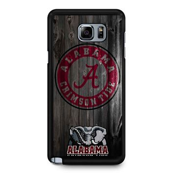 Alabama Crimson Tide Samsung Galaxy Note 5 Case