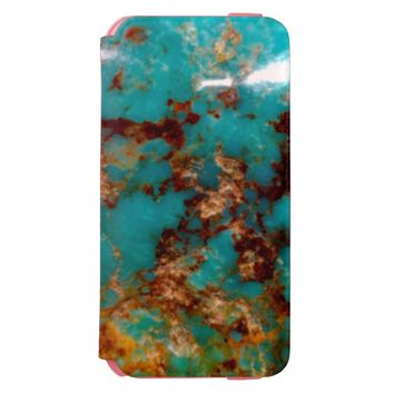 Natural Turquoise V5 Incipio Watson™ iPhone 6 Wallet Case