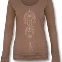 dream catcher organic long sleeve