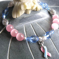 """SIDS & Infant Loss Bracelet (129)  6 1/2"""", Birth Defects, Miscarriage, Stillbirth, cancer awareness collection, unique visions by jen"""