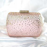 Rhinestone Sparkle Fashion Desinger Clutch  Swarovski Evening Clutch