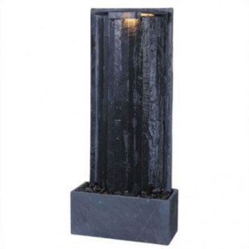Kenroy Home WaterWall Tabletop/Wall Fountain - 50285SL - Indoor Fountains - Decor