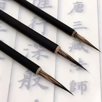 Ink Brush Pen for Watercolor Painting Chinese Drawing Badger Hair Art Craft Drop Ship