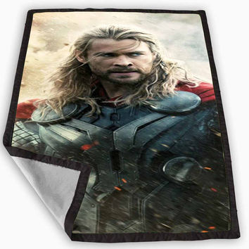 The Dark World Moive Thor Blanket for Kids Blanket, Fleece Blanket Cute and Awesome Blanket for your bedding, Blanket fleece *