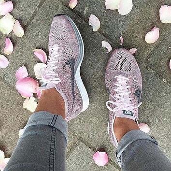 Nike Fly knit Fashion Rainbow Casual Running Sport Shoes Sneakers