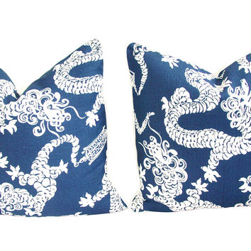 Lee Jofa Lilly Pulitzer Pillows,  Pair