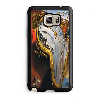 salvador dali soft watch melting clock samsung galaxy note 5 note edge cases