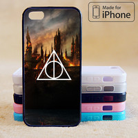 Harry Potter, deathly hallow,Phone Case For iPhone 6 Plus For iPhone 6 For iPhone 5/5S For iPhone 4/4S For iPhone 5C iPhone X 8 8 Plus
