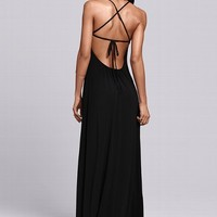 Tie-back Maxi Dress