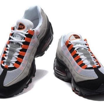 VONEOKJ Air Max 95 Blood Orange / Grey