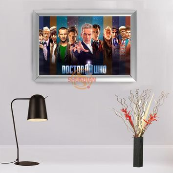 Best Nice Custom Doctor Who Painting Frame Home Decor Canvas Art