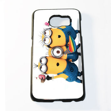Despicable Me Minions Samsung Galaxy S6 and S6 Edge Case