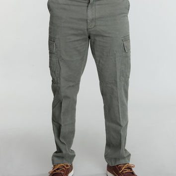 Vintage 6-Pocket Flat Front Fatigue Pants
