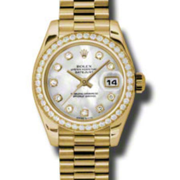 Rolex Datejust Ladies Automatic Watch 179138MDP