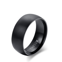 Naver Fade Classic  titanium steel ring simple style rings for men finger Ring fashion promise jewelry
