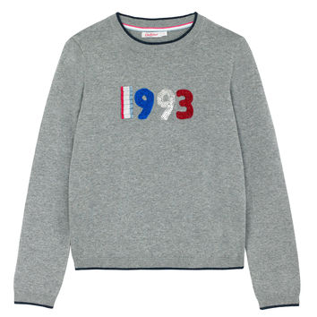 25th Birthday Embroidery Jumper | Knitwear | CathKidston