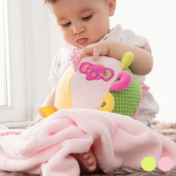 Plush Ball with Blanket for Babies