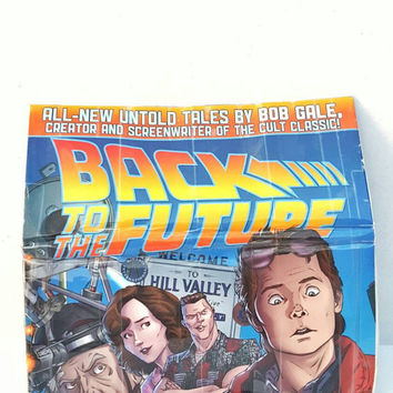 Back To The Future - Marty McFly - Comic Book Wallet - Pouch