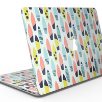 Vibrant Colored Surfboard Pattern - MacBook Air Skin Kit