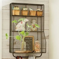 Kellan Wall-Mount Storage Organizer