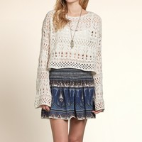 Shell Beach Bell Sleeve Pullover