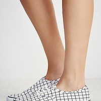 Vans Womens Authentic Grid Low Top Sneaker
