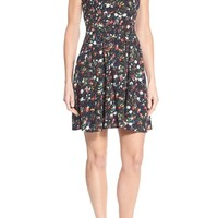 Dex Floral Print Fit & Flare Dress | Nordstrom