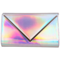 Hologram envelope clutch