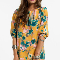 Peony Field Shift Dress $40 (on sale from $58)