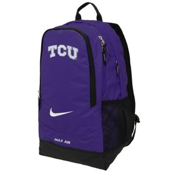 Nike TCU Horned Frogs Large Training Backpack - Purple